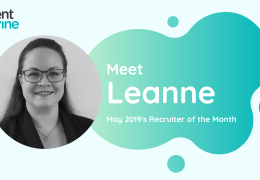 Meet Leanne - TalentVine May 2019's Recruiter of the Month